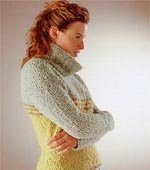 GGH Rebecca Edition Patterns - Pattern No. 5 :: Boucle' Sweater Pattern