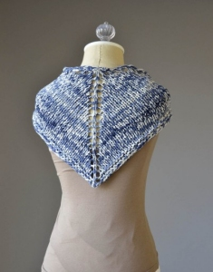 Fibra Natura Denims One Ball Kerchief Kit - Scarf and Shawls