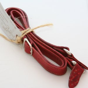 Grayson E Long Narrow Leather Handle