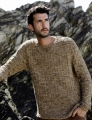 Rowan Tetra Cotton Oolong Pullover Kit