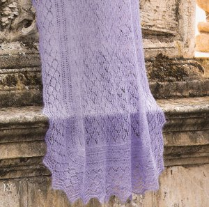 Rowan Kidsilk Haze Diamond Shawl Kit - Scarf and Shawls