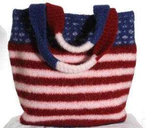 Jimmy Beans Wool Star Spangled Tote Kit - Felting