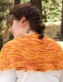 Madelinetosh Tosh Merino Light Cholula Chevrons Shawlette Kit