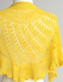 Cascade Forest Hills Shattered Sun Shawl Kit