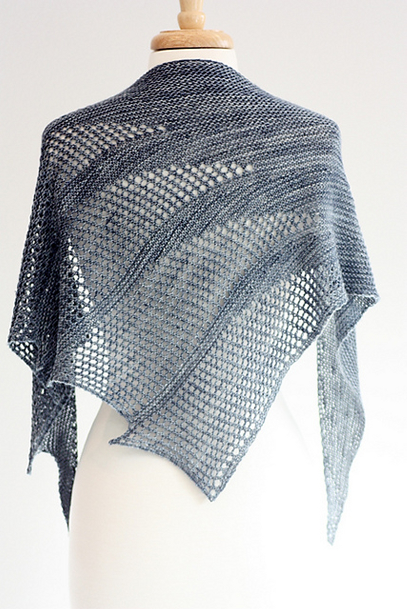 Knitting Patterns For Wraps : Anzula Squishy Artesian Shawl Kit - Scarf and Shawls Kits at Jimmy Beans Wool