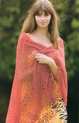 Rowan Kidsilk Haze Spider's Web Hexagon Shawl Kit - Scarf and Shawls