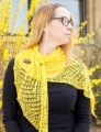 Fyberspates Gleem Lace Branching Out Shawl Kit