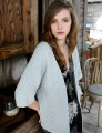 Blue Sky Fibers Worsted Cotton Fairhope Cardigan