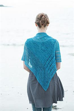 Malabrigo Baby Silkpaca Lace Turquoise Trail Shawl Kit - Scarf and Shawls
