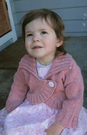 Knitting Pure and Simple Baby & Children Patterns - 0275 - Children's Neckdown Bolero Pattern