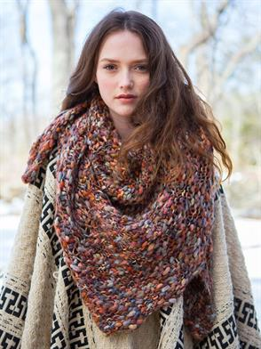 Berroco Gusto Fir Shawl Kit - Scarf and Shawls