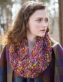 Berroco Gusto Blackberry Blossom Cowl Kit