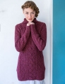 Berroco Blackstone Tweed Red Clover Pullover Kit