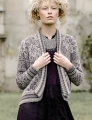 Rowan Alpaca Colour and Chenille Frozen Cardigan Kit