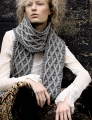 Rowan Pure Wool Superwash Worsted Windy Scarf Kit