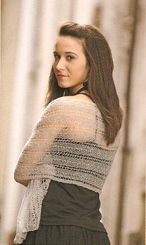 Charmed Knits Invisibility Shawl Kit - Scarf and Shawls