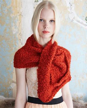 Debbie Bliss Lara Cravat Kit Scarf And Shawls Kits At Jimmy Beans Wool