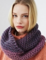 Debbie Bliss Roma Weave Garter Stitch Cowl Kit