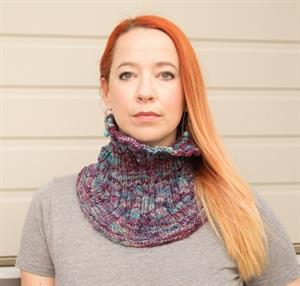 Malabrigo Rastita Rib and Flow Cowl Kit - Scarf and Shawls