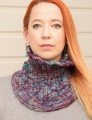 Malabrigo Rastita Rib and Flow Cowl