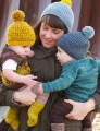 Unraveled Designs and Yarn Swirl DK Bumble Hat Kit