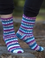 Cascade Heritage Prints Popp'in Prints Socks Kit