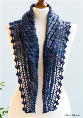 Malabrigo Arroyo Clivia Shawl Kit - Scarf and Shawls