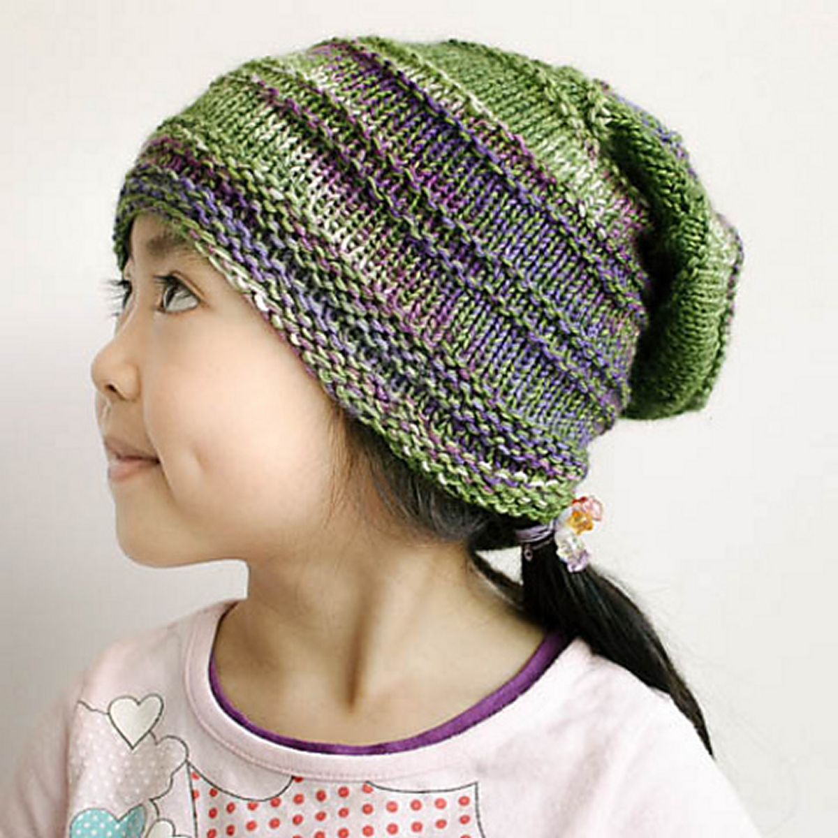 Knit Pattern Gloves Sock Yarn : SweetGeorgia Superwash Worsted or Tough Love sock Tumbler Ridge Hat Kit - Hat...