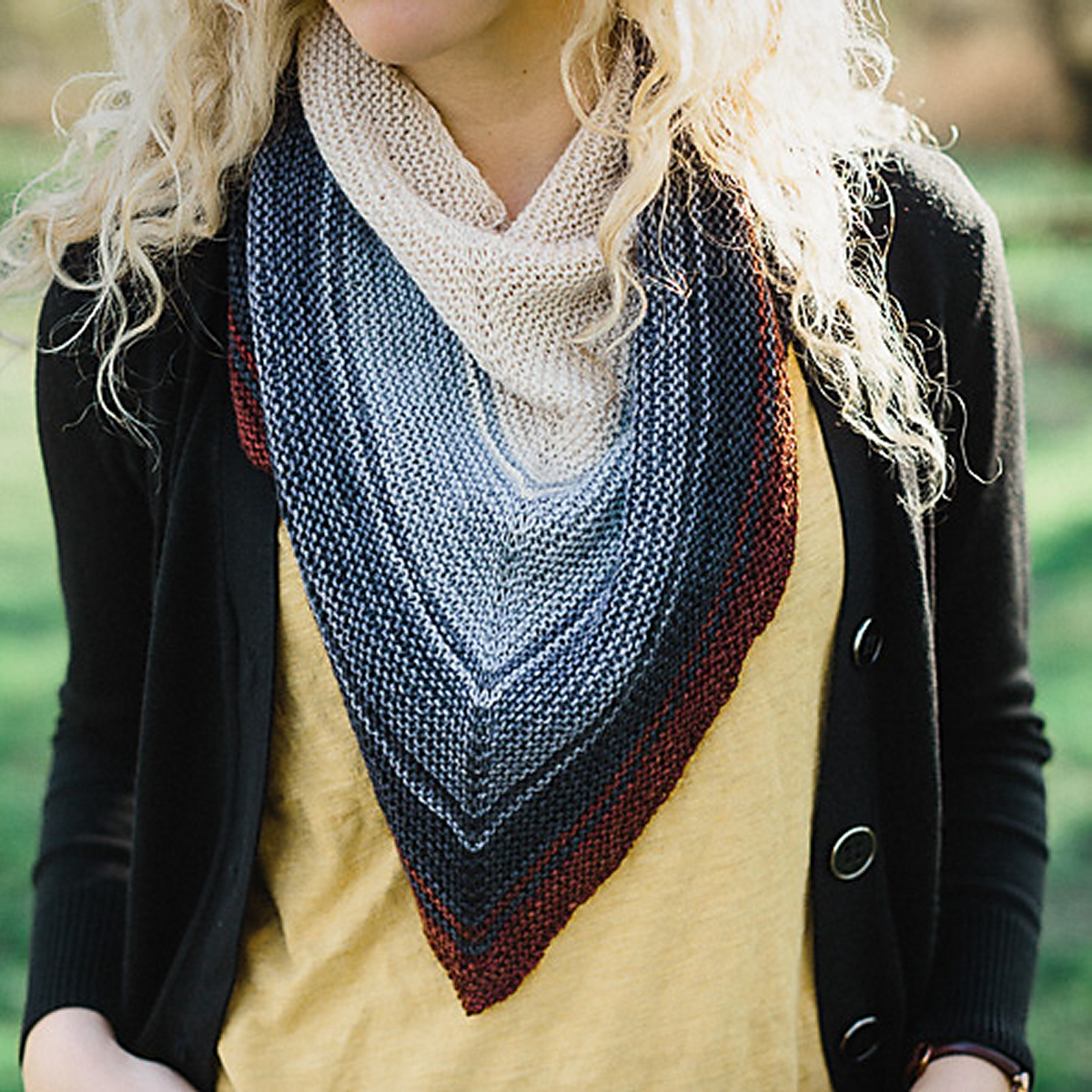 SweetGeorgia CashLuxe Spark Party of Five Reverb Shawl Kit - Scarf ...