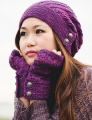 SweetGeorgia Tough Love Sock Procella Hat and Mitts Kit