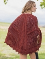 Universal Yarn Deluxe Worsted Wonderlake Shawl Kit