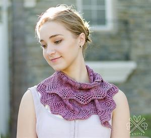 Madelinetosh Silk/Merino Battenburg Scarf  Kit - Scarf and Shawls