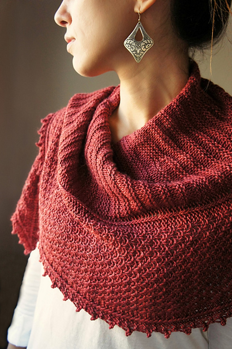 Knitting Pattern For Yarn Over Scarf : Artyarns Big Merino Cloud Autumn Blush Kit - Scarf and ...