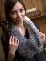 Plymouth Yarn Arequipa Fur F625 Ombre Cowl Kit