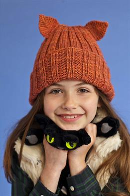Berroco Vintage Colors Cat Hat Kit - Baby and Kids Accessories