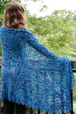 Koigu KPPPM Tapestry II Shawl Kit - Scarf and Shawls