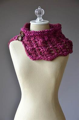 Wisdom Yarns Poems Uno Superwash Sweetie Cowl Kit - Scarf and Shawls