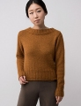 Shibui Knits Dune and Silk Cloud Cornice Pullover Kit