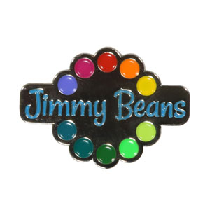 Jimmy Beans Wool Enamel Pins - Jimmy Beans Logo