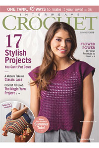 Interweave Crochet Magazine - '19 Summer