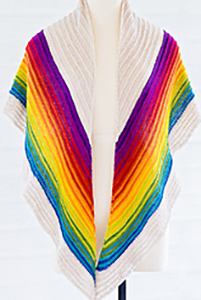 SweetGeorgia PDF Patterns - Rocky Mountain Shawl - PDF DOWNLOAD photo