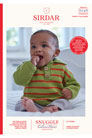 Sirdar Snuggly Baby and Children Patterns - 5245 Polo Sweater Pattern