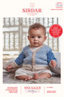 Sirdar Snuggly Baby and Children Patterns - 5264 Cardigan