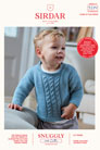 Sirdar Snuggly Baby and Children Patterns - 5270 Tank and Sweater