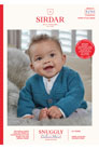 Sirdar Snuggly Baby and Children Patterns - 5250 Cozy Cardigan