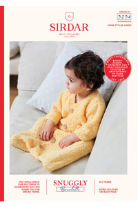 Sirdar Snuggly Baby and Children Patterns - 5254 Sleeping Bag Pattern