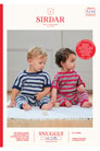 Sirdar Snuggly Baby and Children Patterns - 5276 Striped Onesie