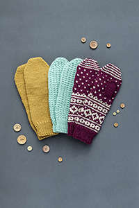 Kelbourne Woolens Patterns - Pattern Collection Patterns - Building Blocks: Mittens - PDF DOWNLOAD photo