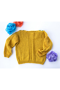 Kelbourne Woolens Patterns - Fiddlehead (baby) - PDF DOWNLOAD Pattern