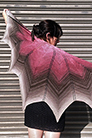 Freia Fine Handpaints Pattern Collection - Antheraea Shawl - PDF DOWNLOAD